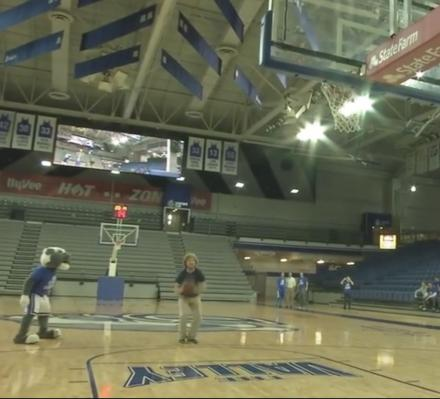 College Kid Hits 4 Amazing Basketball Shots To Win a Ford F-150