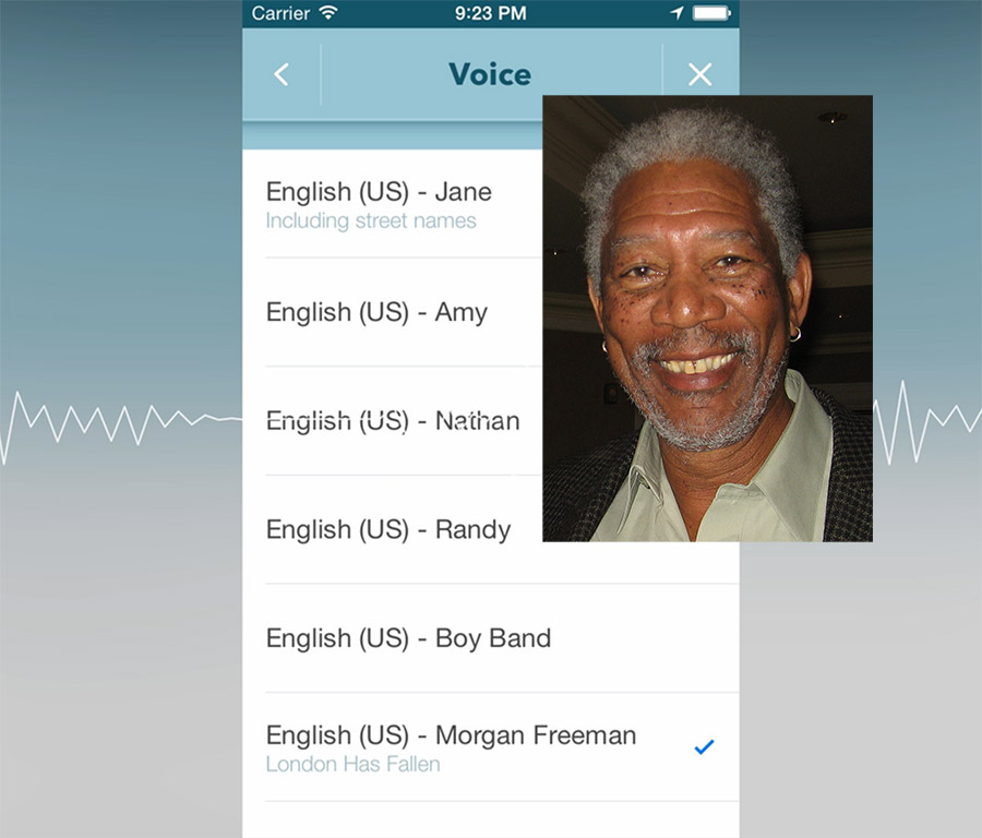 Morgan Freeman's Voice Is Now Available To Choose Through