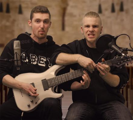 These 2 Guys Use 1 Guitar To Cover Eminem