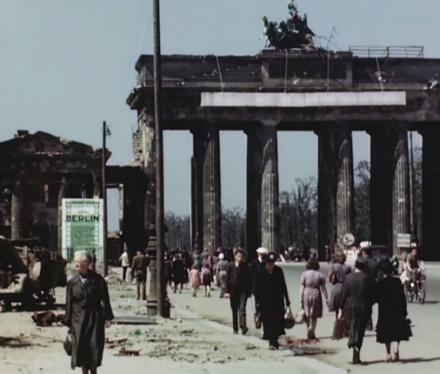 This Rare Full Color Video Shows What Berlin Was Like In 1945