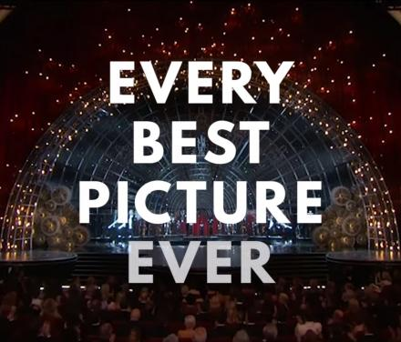 This Video Shows You Every Best Picture Oscar Winner Ever