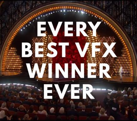 This Video Shows You Every Best Video Effects Oscar Winner Ever
