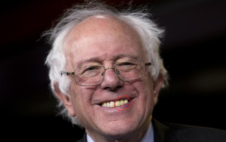 Bernie Sanders Dental Analysis