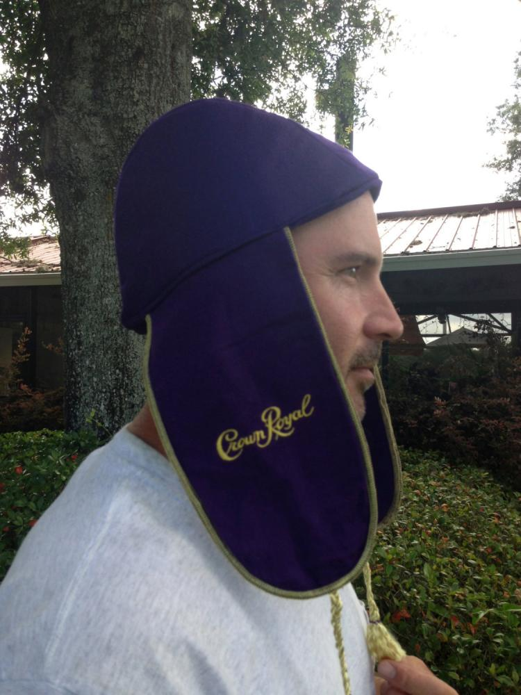 DIY Crown Royal Bag Hat