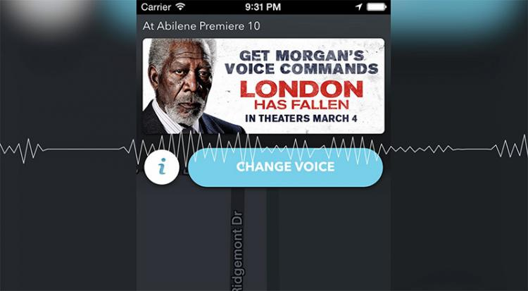 Morgan Freeman Waze GPS Voice