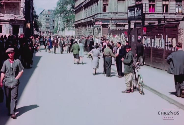 Rare Color Video Of Berlin 1945