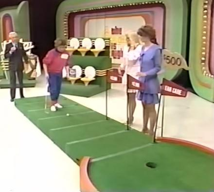 Watch The Worst Putter In The World Attempt To Win a Car on The Price Is Right Putting Game