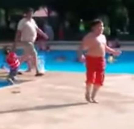 You Could Learn a Lesson In Self Confidence From This Chubby Kid Dancing Around a Pool