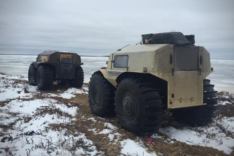 Sherp Atv For Sale >> The Sherp: A New Russian All-Terrain Vehicle That's Pretty ...